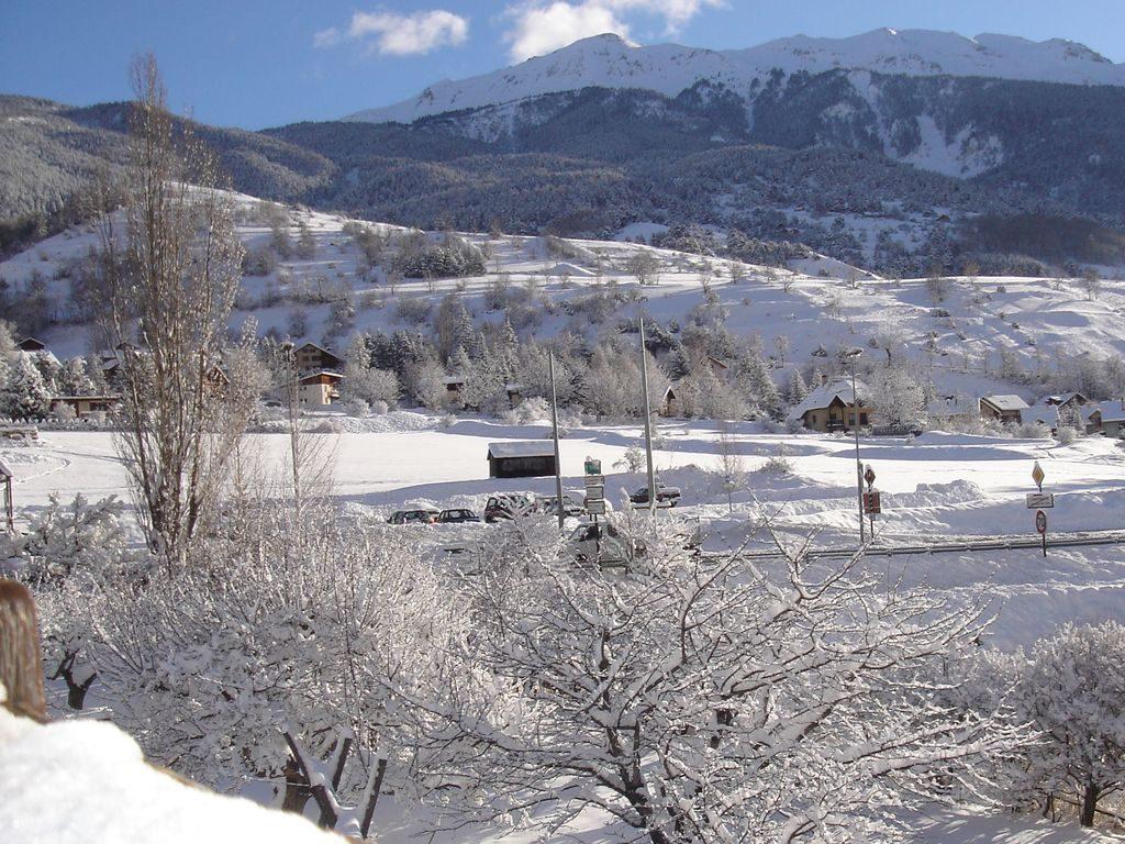 Neige sur l'est de la vallée
