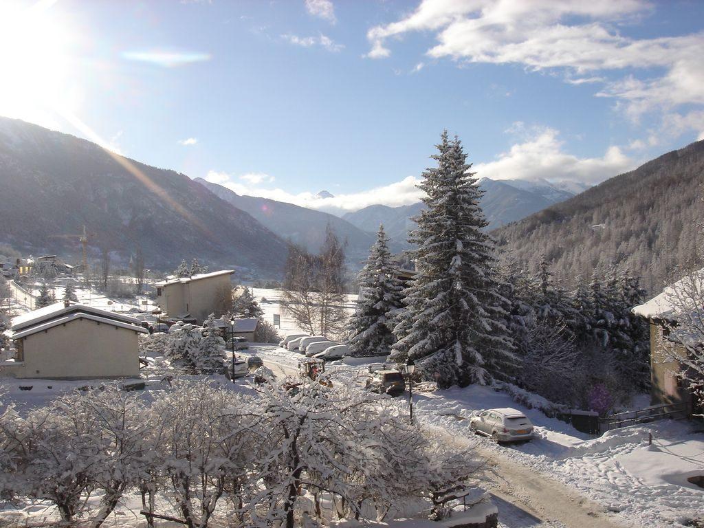 Neige sur le sud de la vallée