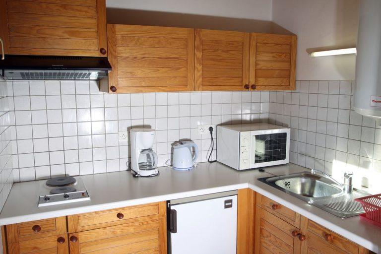 Coin cuisine de l'appartement N°1